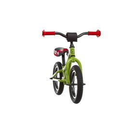 """Ghost Powerkiddy Lapset potkupyörä 12"""" , vihreä"""